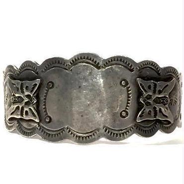 All Silver Butterfly Bracelet