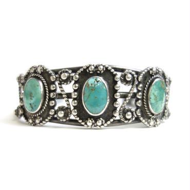 Three Turquoise Eminent Lasso Bracelet