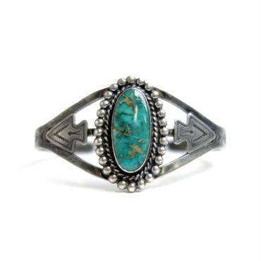 Round Turquoise Arrow Head Bracelet