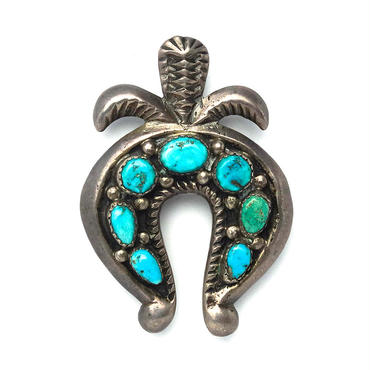 Naja 7 Turquoise Pin