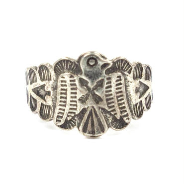 Thunderbird Ring / Fred Harvey Style