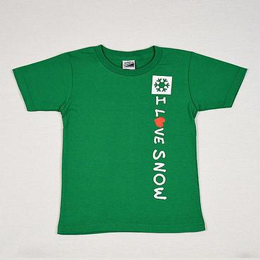 コットンキッズTシャツ (グリーン/サイズ110・120・130)