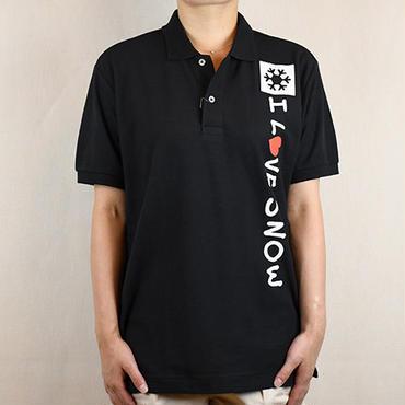 コットンポロ (ブラック/サイズS・M・L・XL)