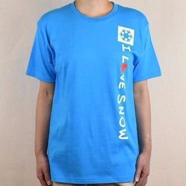 コットンTシャツ (ターコイズブルー/サイズS・M・L・XL)