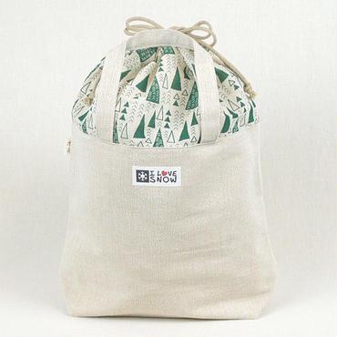 『森への感謝』シリーズ 木糸(もくいと)トートバッグ