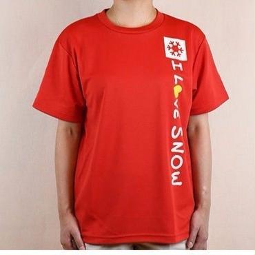 ドライTシャツ (レッド/サイズS・M・L・XL)