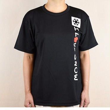 ドライTシャツ (ブラック/サイズS・M・L・XL)