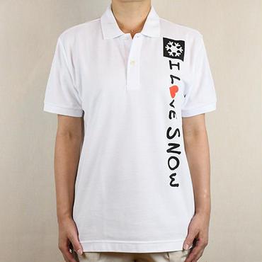 コットンポロ (ホワイト/サイズS・M・L・XL)