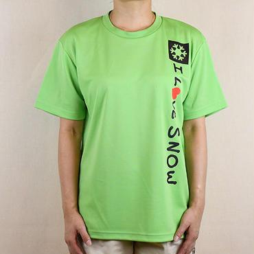 ドライTシャツ (ライム/サイズS・M・L・XL)