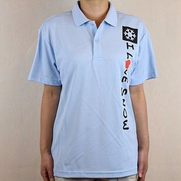 ドライポロ (ライトブルー/サイズS・M・L・XL)