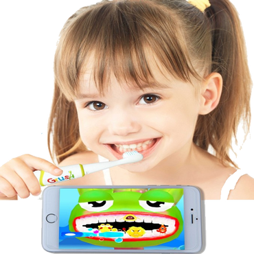 Grush 電動歯ブラシ(税込、送料無料)毎分25,000回の音波振動【平日15時までのご注文で当日出荷致します】