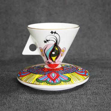 Keiichi Tanaami / Cup & Saucer #2