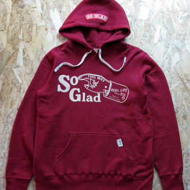 So Glad Hand P/O Parka Red Pepper
