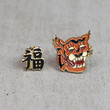 """""""ROARING TIGER"""" Pin Set"""