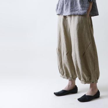 パントル・リネン・パンツ/ベージュ