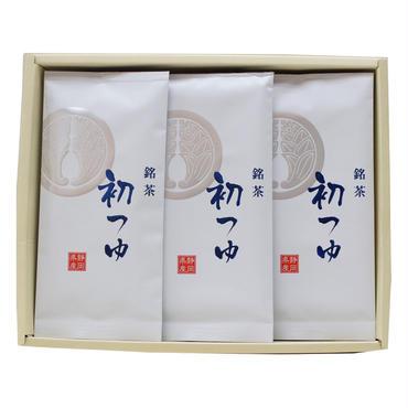 上煎茶「初つゆ」100g×3本 箱入れ