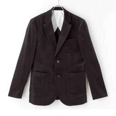 GUARICHE BLACK CORDUROY JACKET
