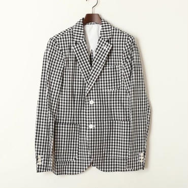 GUARICHE GINGHAM COTTON JACKET