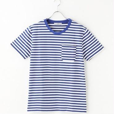 GUARICHE BORDER T-SHIRTS BLUE/BLK