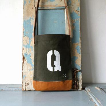 パラフィン帆布(トラック用)ショルダーバッグIND_BNP_0128