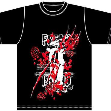 鬼畜島Tシャツ(Black)