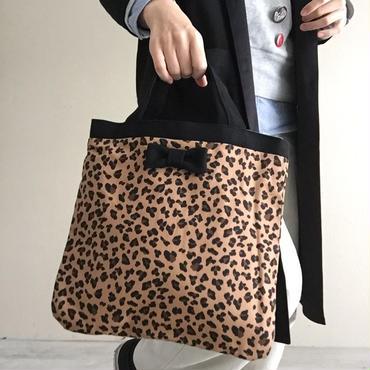 small tote leopard dark 限定ライナー