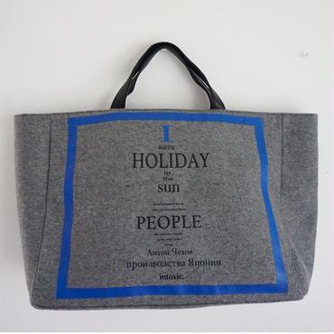 【新作・即売品】 holiday big tote