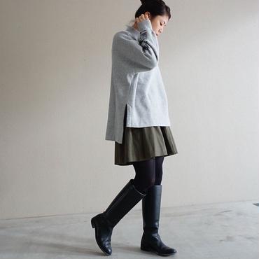 【予約終了】thomas magpie long sleeve print sweat grey