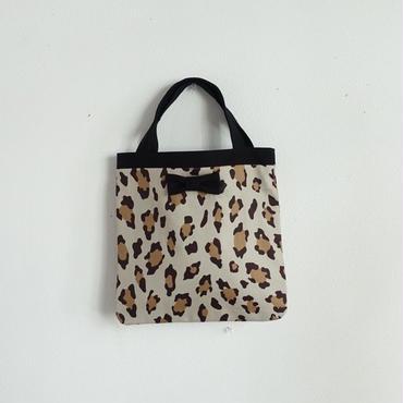 完売【online限定】small tote summer leopard