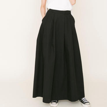 即売品thomas magpie long skirt black