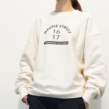 予約終了▶︎thomas magpie crew neck big sweat