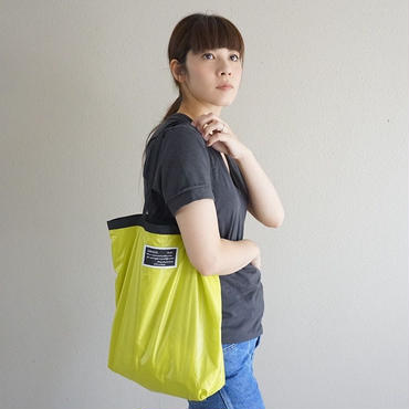 ▼予約終了 air light rip baggege yellow green