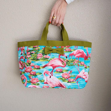 【online store限定】town mini tote flamingo