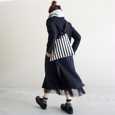 【完売】skipton stripes black