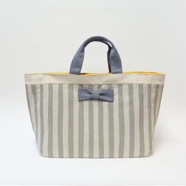 【完売】town mini stripes grey