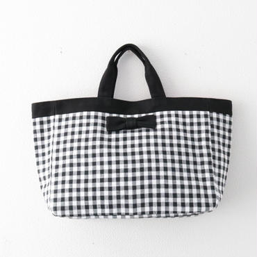 完売【2018 SS】town mini  gingham black