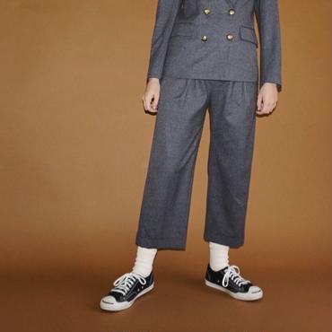 【予約終了】thomas magpie flannel  trousers