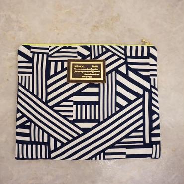 urban line mini clutch geometric black