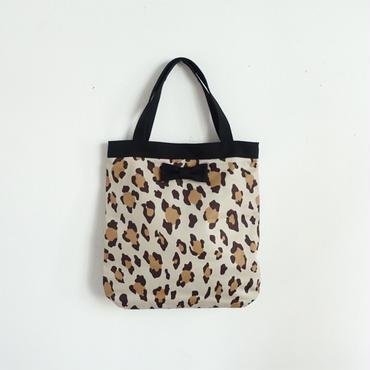 完売【online限定】medium tote summer leopard
