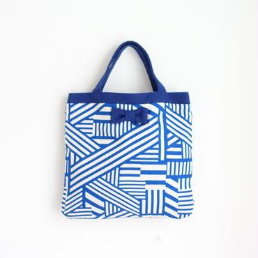 small tote geometric blue 限定ライナー