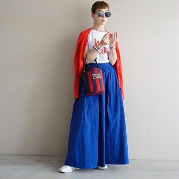 【即売品】thomas magpie long skirt royal blue
