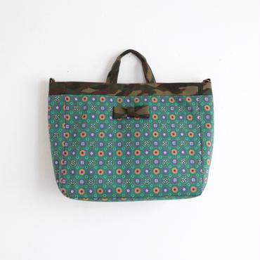 【tokyo limited】adjust strap tote mosaico green