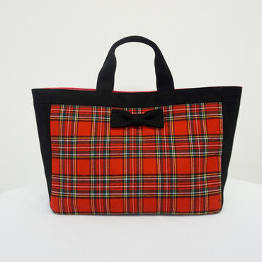 town mini tote royal stuart black special model