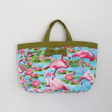 【online store限定】town mini tote flamingo