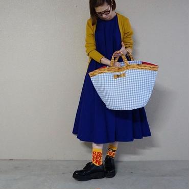 【2018 SS】marche gingham blue