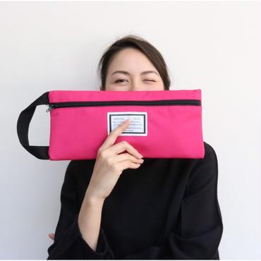 college bag cordura toxic pink