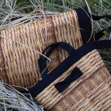 【新作】mini penelophia fake basket black