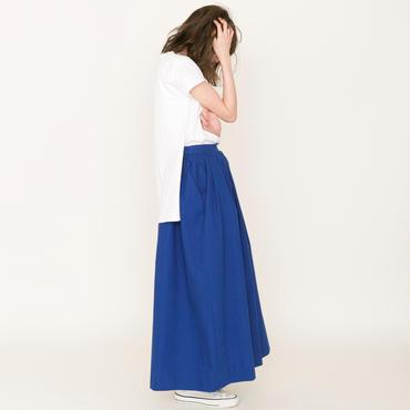 即売品thomas magpie long skirt royal blue