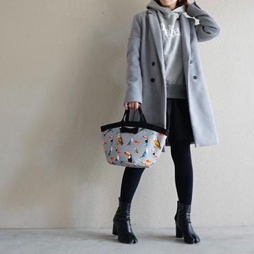 【original textile】marche mini chemicalbirds grey