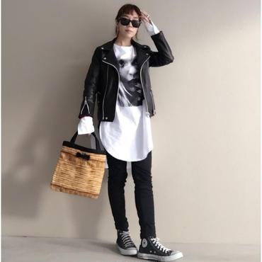 【onlinestore限定】small tote fake basket black